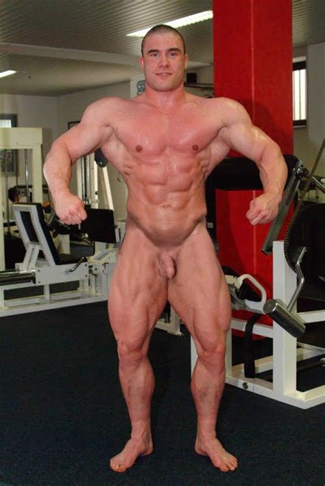 Muscle men nude the naked male bodybuilders, solo, gym jpg 500x747