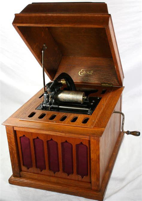 vintage edison cylinder phonograph jpg 845x1200