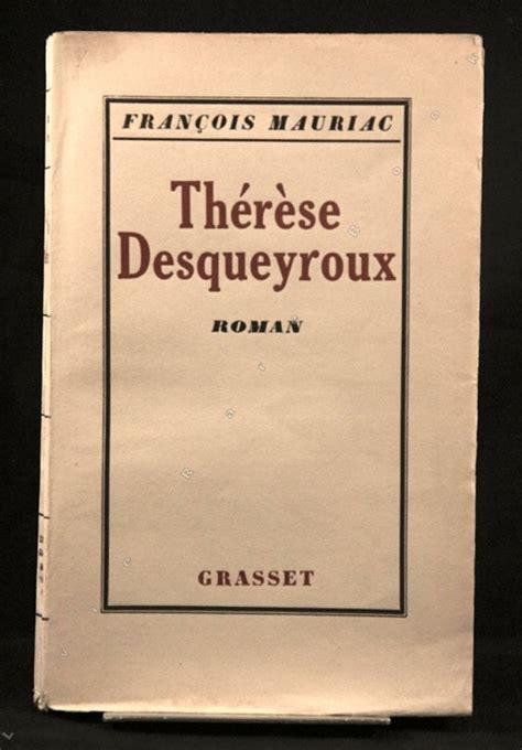 Therese desqueyroux resume livre jpg 550x790